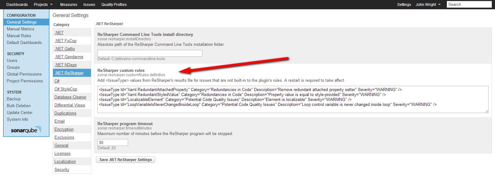 SonarQube  NET ReSharper Plugin Beta Release - Musing, Rants