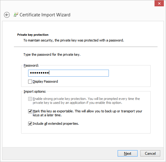 Converting a SSL Certificate to PKCS#12 Format on Windows - Musing ...